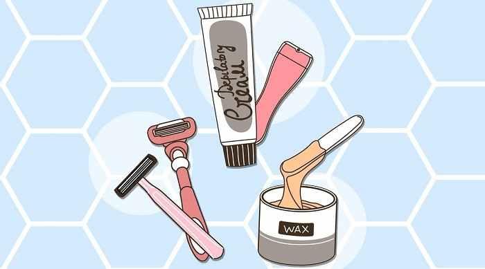 انواع روش های حذف موهای زائد