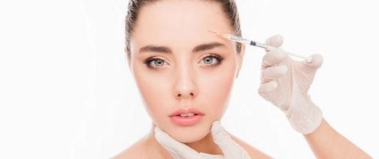 تزریق بوتاکس برای رفع چین و چروک پوست صورت