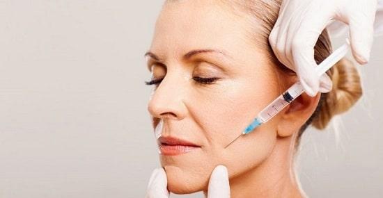 تزریق ژل برای رفع چین و چروک پوست صورت
