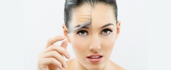 رفع چین و چروک پوست صورت (پیشانی، دور چشم و اطراف لب)